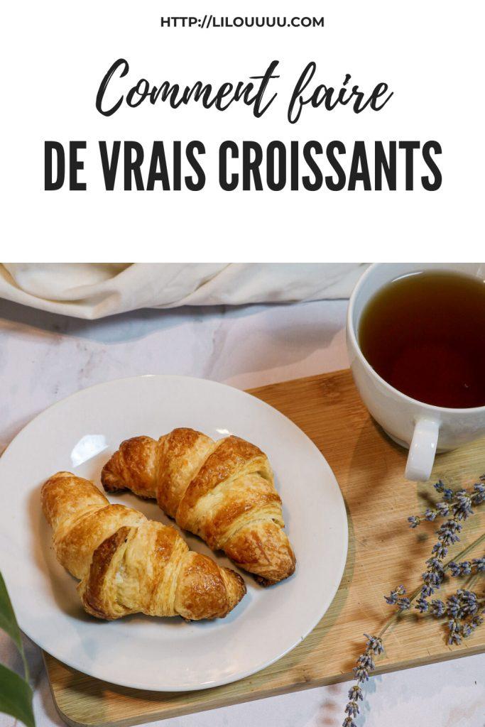 recette croissants comme à la boulangerie