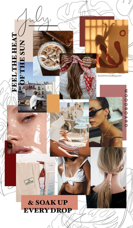 inspiration mood board pinterest