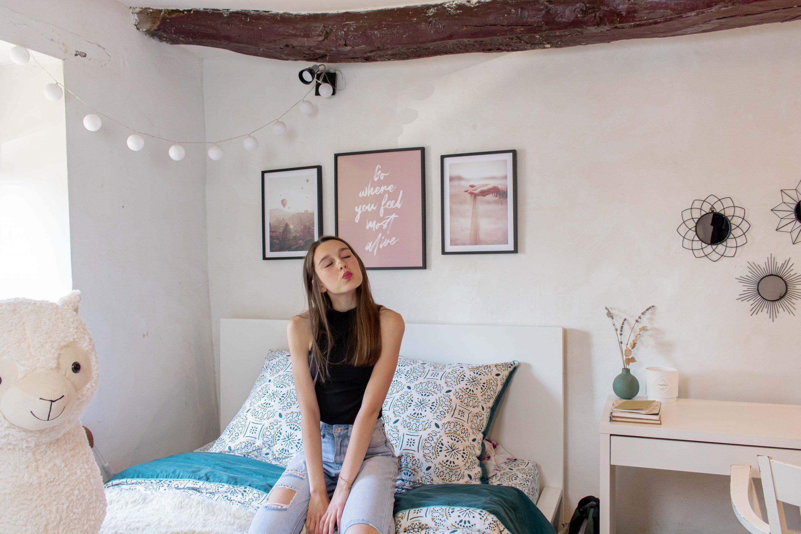 inspiration décoration chambre de fille