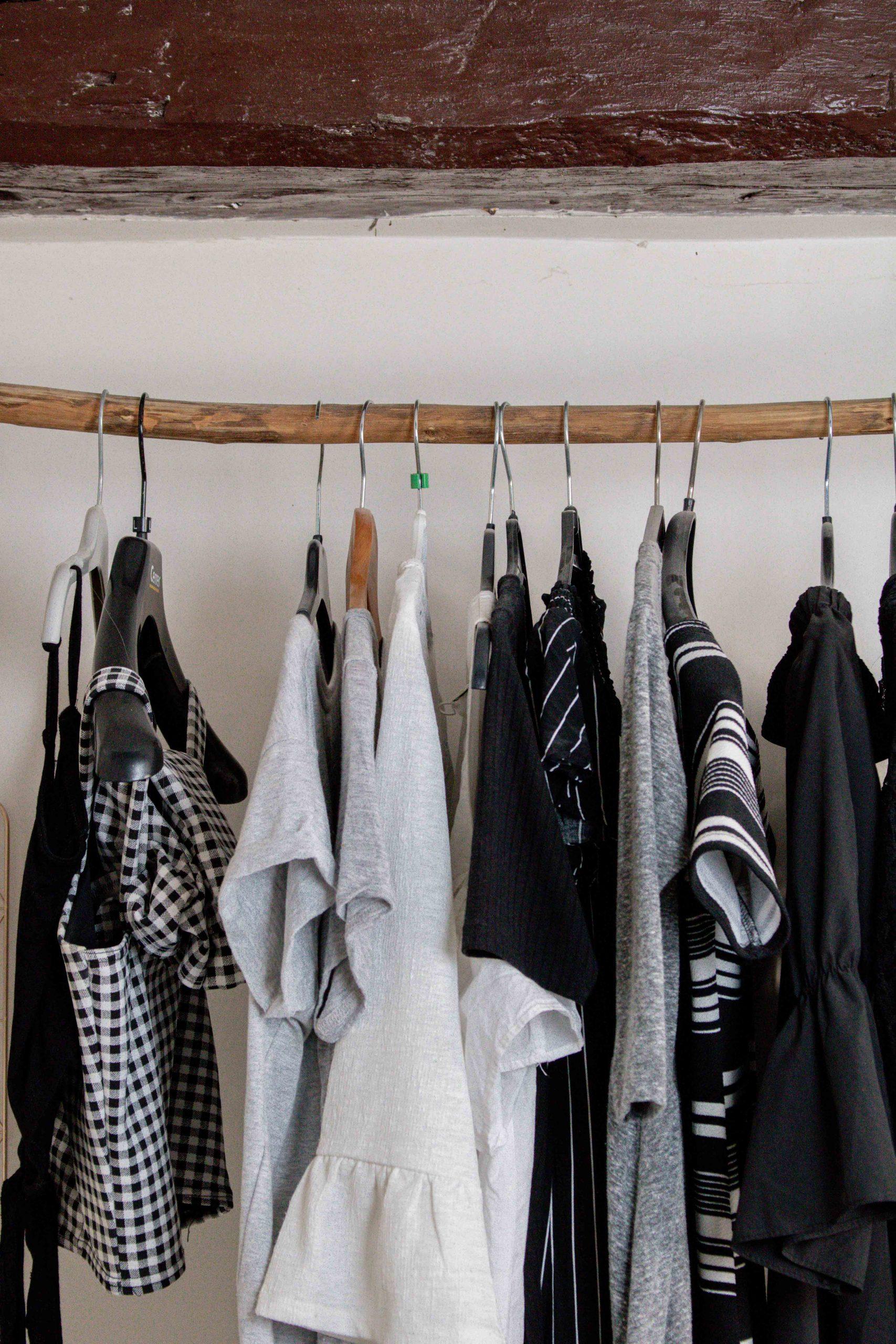 decoration chambre portant en forme de branche pour vêtements