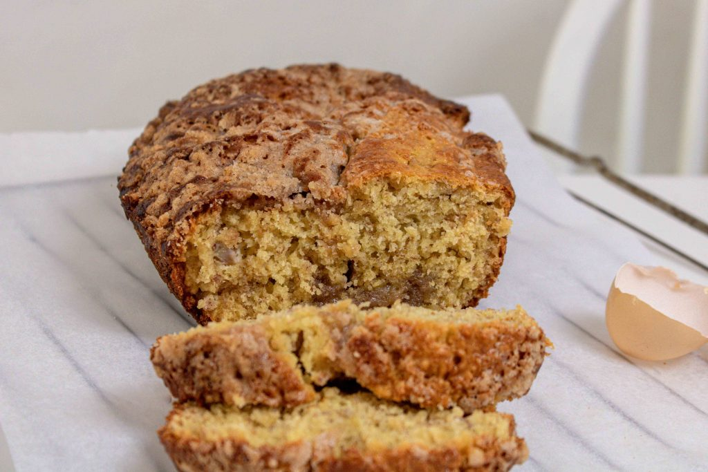 recette banana bread crunchy