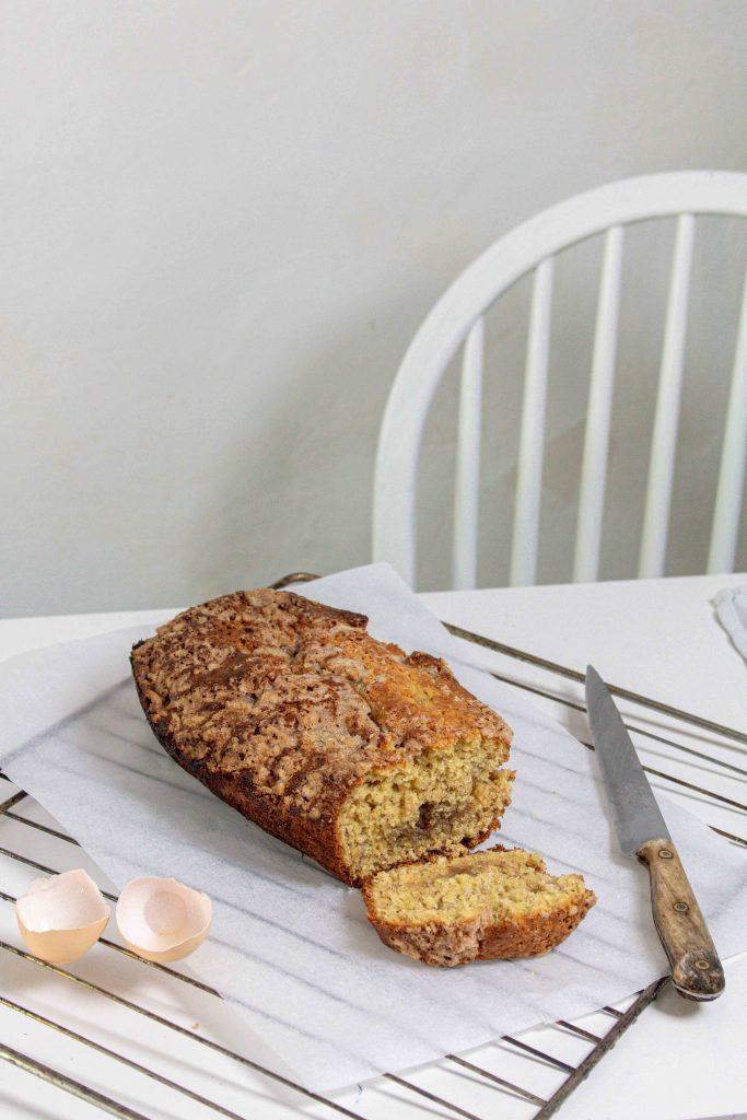 recette banana bread - pain à la banane